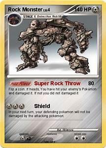 Pokémon Rock Monster 7 7 - Super Rock Throw - My Pokemon Card