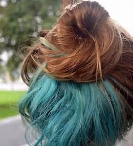 Blaue Haare Ombre : blau ombre haar trend frisuren ~ Frokenaadalensverden.com Haus und Dekorationen