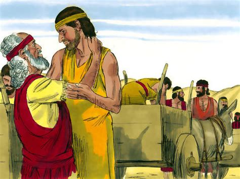 Joseph and His Brothers in Egypt