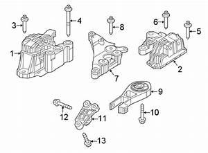 Jeep Compass Engine Mount Bolt  Auto Trans  M10x93  Manual