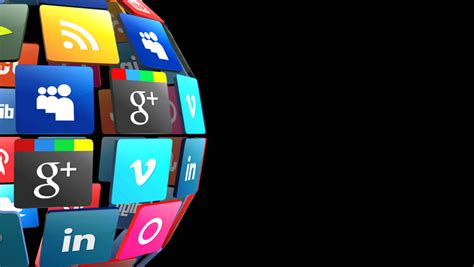 mobile apps  black background stock footage video