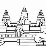 Drawing Buddhist Temple Clipartmag Destinations Holiday sketch template