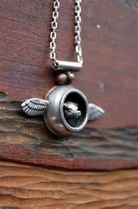 Pig with Wings Necklace