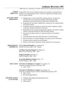 Experienced Rn Objective Resume by Pediatric Office Resume Sle Sle Resumes Nurses Resume Pediatric Resume Image