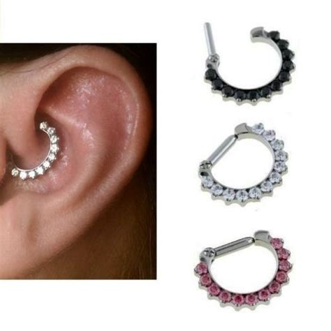 6 Marvelous Daith Piercing Jewelry Items For All Tastes