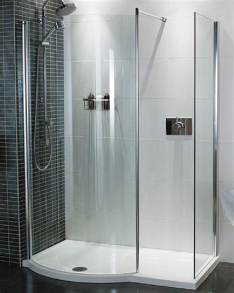 Walk In Corner Shower Units by One Shower Units For Additional Bathroom One