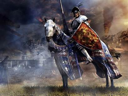 Medieval War Total Wallpapers Knight Knights Battle