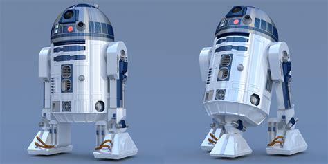 Blender 3d : R2-d2 Free 3d Blender Model Conversion Ver 1-0 By Pixeloz