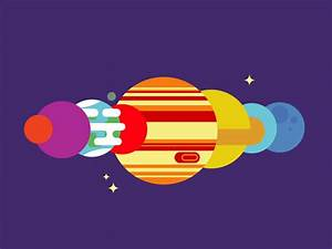 Moving Solar System by Robin Griffiths - Dribbble