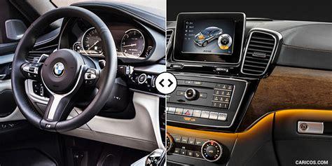 First comparison mercedes gle coupe vs bmw x6 by auto bild. BMW X6 vs. Mercedes GLE Coupe: Cockpit - Comparison #4