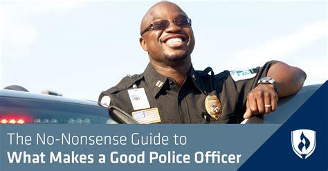 nonsense guide     good police officer