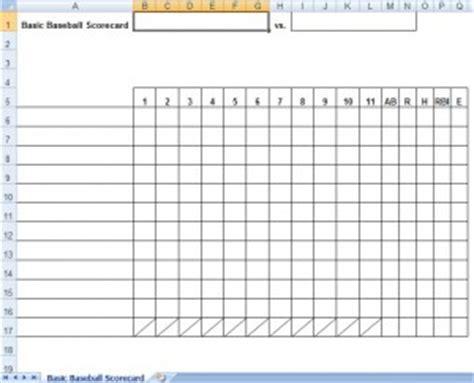 baseball baseball scorecards baseball sheets