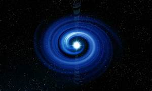 A Real Black Hole Quasar - Pics about space
