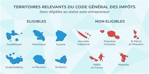 les dom tom des territoires favorables aux auto entrepreneurs