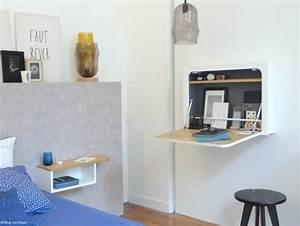 Bureau Mural Ikea : des petits bureaux pour un coin studieux joli place ~ Dode.kayakingforconservation.com Idées de Décoration