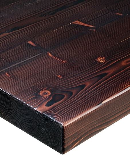thick restaurant pine wood table top