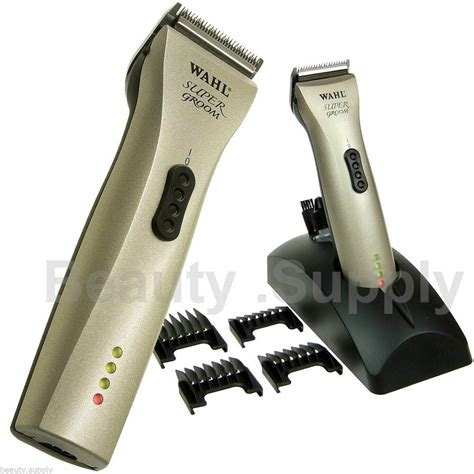 wahl super groom animal hair grooming clipper pet dog horse