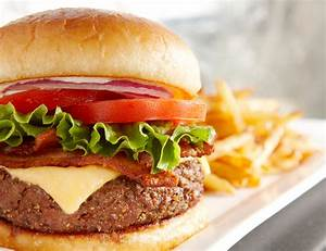 Burger And Fries Recipe — Dishmaps