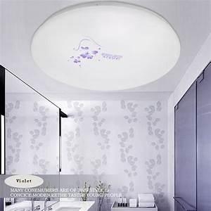 Deckenleuchten Led Schlafzimmer : moderne acryl lampenschirm 12 watt 18 watt led deckenleuchten oberfl che montiert kronleuchter ~ Markanthonyermac.com Haus und Dekorationen