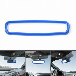Blue Rearview Mirror Decoration Ring Cover for Ford Mustang 2009-19 Accessories | eBay