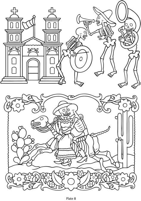 591 best skull coloring/ Dia de los Muertos images on