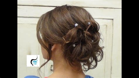 soft curled updo  long hair prom  wedding hairstyle