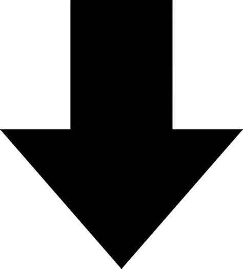 Nach Unten by Gro 223 En Pfeil Nach Unten Der Kostenlosen Icons