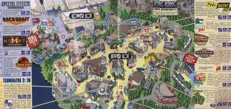 Universal Halloween Horror Nights 2014 Theme by Universal Studios California Map California Map
