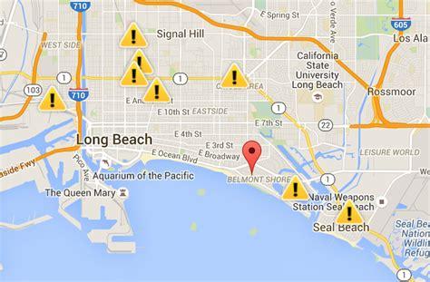 update power returns   city  long beach assists