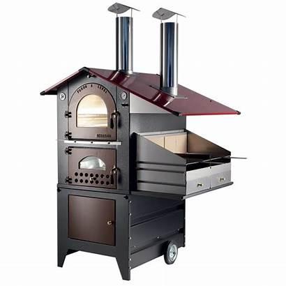 Legna Forno Barbecue Esterno G70 Fuoco Gemignani