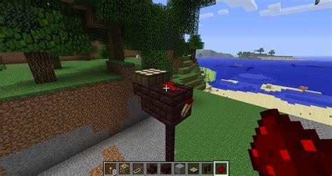 100 redstone l crafting recipe instal wooden
