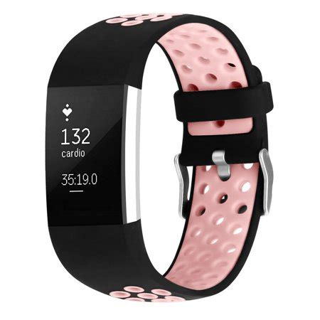 igk fitbit charge 2 bands soft silicone adjustable replacement sport for fitbit charge 2