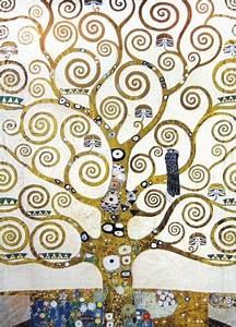 Arbre De Vie Deco : gustav klimt l arbre de vie d tail 2 parties d co klimt art klimt et gustav klimt ~ Dallasstarsshop.com Idées de Décoration