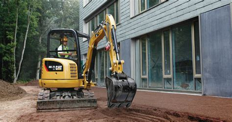 mini excavator rental cost