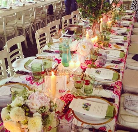 beautiful wedding tablescapes  instagram