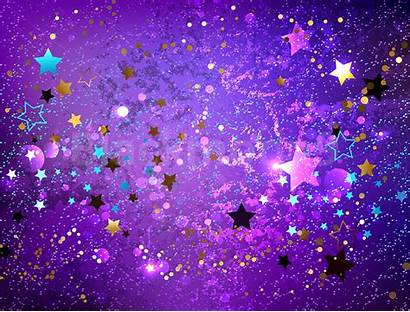 Purple Background Stars Violet Starry Backdrop Graphic