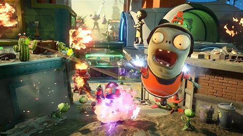 vs zombies garden warfare 2 earn coins and level test plants vs zombies garden warfare 2 sur ps4 et xbox one Plants