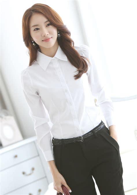 blouson blouse womens formal shirts blouses with brilliant photos