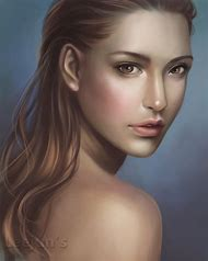 deviantART Digital Art Face