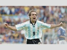 Gabriel Batistuta Argentina Japan 1998 World Cup Goalcom