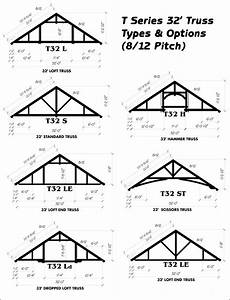 ozark timber frame standard truss options With 32 foot trusses