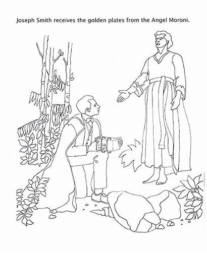 Lds Coloring Primary Pages Mormon Joseph Smith