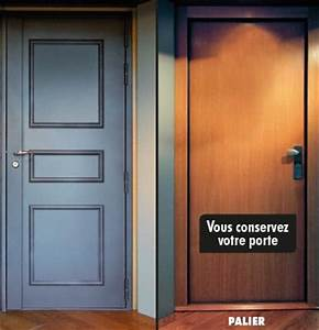 porte blindee blindage sur mesure avec serrure 5 points With blindage de porte