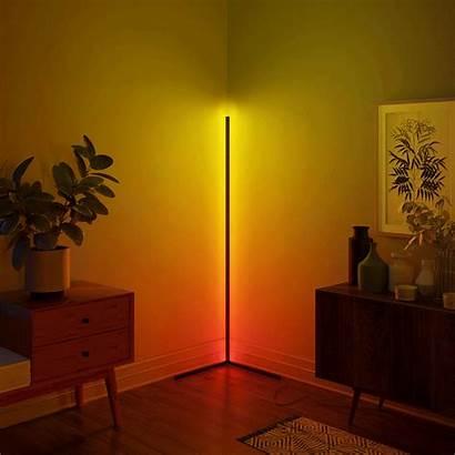 Corner Floor Lamp Led Lamps Living Standing