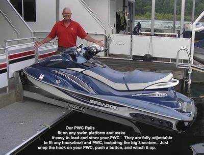 Boat Lift Kentucky by Pwc Rail Seadoo Jet Ski Lift For Houseboats