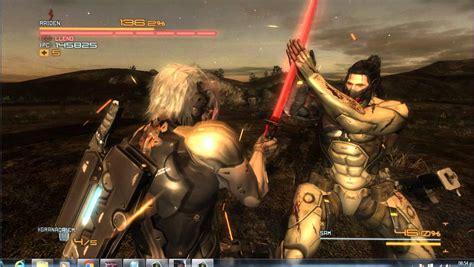 Raiden Vs Sam Metal Gear Rising Revengeance Mi Primer