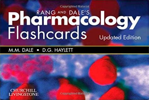 Rang & Dale's Pharmacology Flash Cards, 1st Edition • Free ...