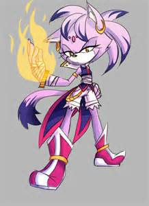 Blaze Cat Sonic Boom