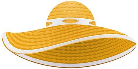 Hat Clip Sun Hat Clip Clipart Best
