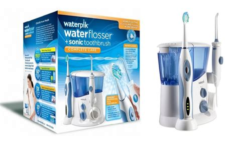 Waterpik Complete Care(WP-900) Water Flosser and Sonic